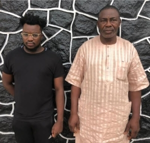 Bursted! Father And Son Apprehended By EFCC Over Alleged Internet Fraud