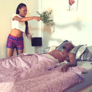 Hilarious Video: Movie Director Makes Yvonne Nelson Chant Iyanya's Name in Movie Role [mp4]
