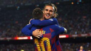 Griezmann Breaks Silence On Messi Leaving Barcelona