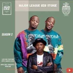 Major League & Dj Stokie – Amapiano Live Balcony Mix B2B (S2 EP9)