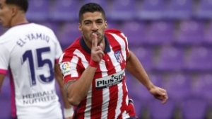 Atletico Madrid coach Simeone: Winner Suarez is blessed with magic