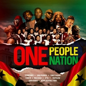 Stonebwoy ft. King Promise, Efya, Darkovibes, Fancy Gadam, Fameye, Maccasio, Teephlow, Bethel Revival Chior – One People, One Nation