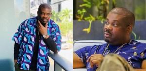 Donjazzy 'weeps' as Nigerians flood his social media handles demanding for financial assistance amid coronavirus crisis