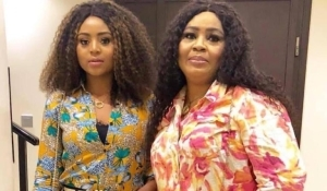 'This Is How You Incurred Generational Curse Into Your Family' Regina Daniels Mum Angrily Tears Into Fan