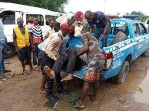 Three Killed In Ibadan Truck, Motorcycle Accident
