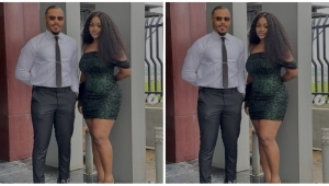 """""""Una Dey Fear To Hold Each Other"""" – Fans React To This Photo Of Chioma And Ozo"""