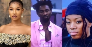 """BBNaija: """"Boma Is Disgusting"""" – Tacha Says After He Clashed With Angel"""