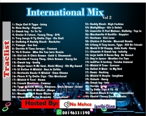 DJ No Mehce – International Mixtape Vol. 2