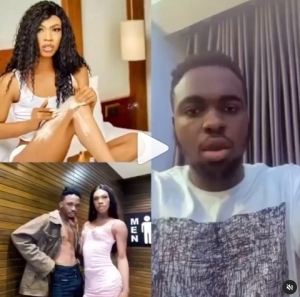 James Brown and Friend, Tobi The Creator Accused of Stealing From a Lady at Cubana Club (Video)