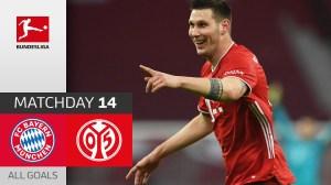 Bayern Munich vs Mainz 5 - 2 (Bundesliga Goals & Highlights)