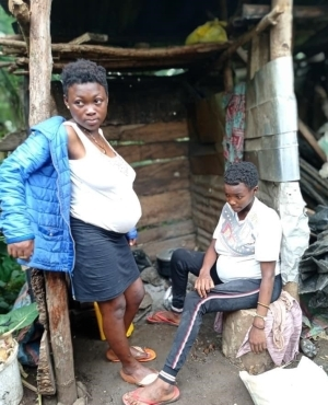 Teenage Twin Sisters Impregnated By Same Boy In Cameroon (Photos)