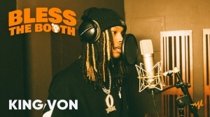 King Von - Bless The Booth Freestyle (Video)