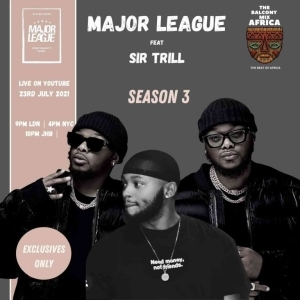MajorLeagueDjz – Amapiano Balcony Mix Africa Live with Sir Trill S3 EP 4