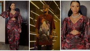 """""""Your Husband Carry Eye Go Market"""" – Banky W Says As He Gushes Over New Photos Of Adesua Etomi"""