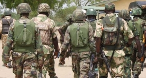 Nigerian Troops Arrest Bandit In Possession Of Military Kits