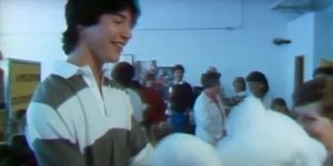 Keanu Reeves Reports on Teddy Bears In Funny Throwback Video