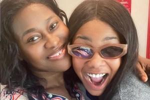 The Adorable Moment Uche Jombo Met BBNaija Star, Tacha