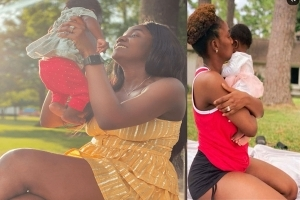 Simi Cries Out Over How Her Daughter Deja Innocently Bullies Her