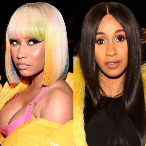 Cardi B vs Nicki Minaj Dj Mixtape (Best Female Rappers)