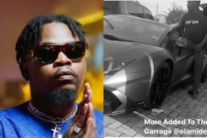 Olamide Embarrasses Otedola, Buys N218m Lamborghini Aventador Quietly! (See Photos)