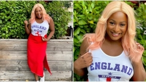 DJ Cuppy Reacts As A Fan Claims She Is The Reason England Lost To Italy In The Euro 2020