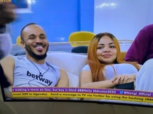 #BBNaija: Watch Ozo's Reaction After Nengi Asked Him To Join Her In Bed (Video)