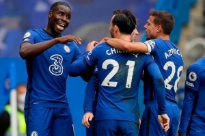 Chelsea Beat Crystal Palace 4-0 At Stamford Bridge In The Premier League