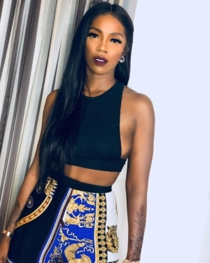Tiwa Savage reacts to being an alleged lesbian