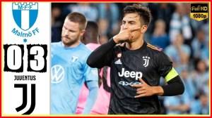 Malmo vs Juventus 0 − 3 (Champions League 2021 Goals & Highlights)