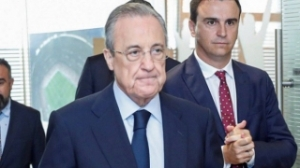 Real Madrid president Florentino denies urging Laporta to let Messi leave Barcelona