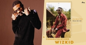 "#Grammys: Wizkid Wins ""Best Music Video"" Award"