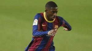 Ousmane Dembele on brink of signing new Barcelona deal