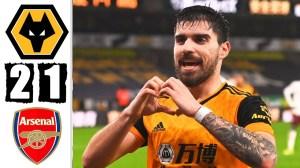 Wolves vs Arsenal 2 - 1 (EPL Goals & Highlights 2021)