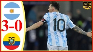 Argentina vs Ecuador 3 − 0 (Copa America 2020 Goals & Highlights)
