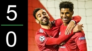 Manchester United 5 - 0 RB Leipzig (UEFA Champions League) HIghlights