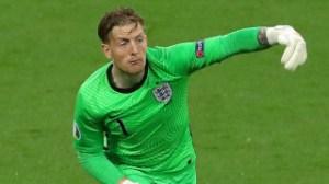 Everton goalkeeper Pickford sets new England record
