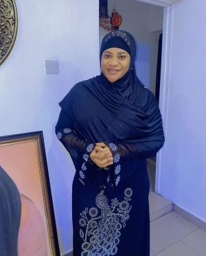 """Days after she was spotted twerking, actress, Nkechi Blessing rocks Hijab; calls herself the """"Lord's favourite"""""""
