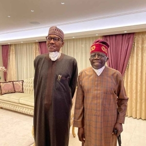 President Buhari Visits APC Chieftain Tinubu In London After Second Surgery (See Photos)