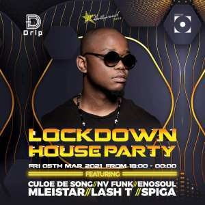 Culoe De Song – Lockdown House Party (5th March 2021)