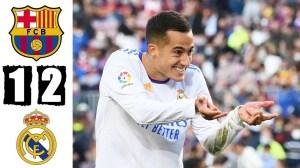 Barcelona vs Real Madrid 1 - 2 (LaLiga 2021 Goals & Highlights)