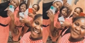 "Secondary School Girls Who Call Themselves ""Benefit Girls"" Flaunt Their Newly Acquired iPhones (VIDEO)"