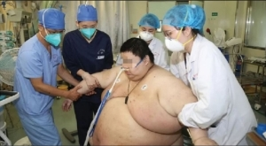 OMG! Meet The Chinese Man Who Added Weight, Gained 100kg During Five-Month Lockdown (Photo)