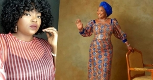 Actress, Funke Akindele Celebrates Beloved Mother On Her Birthday