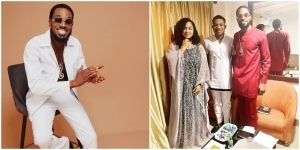 """""""I Am Born Again"""" – Dbanj Says As He Attends A Church Event In Abuja With His Wife (Video)"""