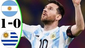 Argentina vs Uruguay 1 - 0 (Copa America 2020 Goals & Highlights)