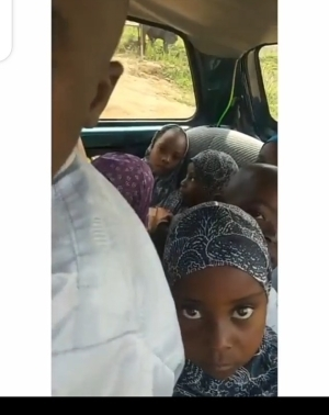 Meet The Nigerian Man With 4 Wives And 32 Children (Video)