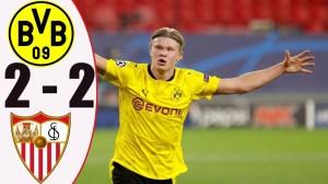 Dortmund vs Sevilla 2 - 2 (UCL Goals & Highlights 2021)