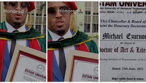 Mike Ezuruonye Honoured With Doctorate Degree (Video)