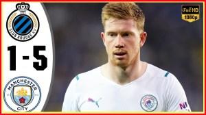 Club Brugge vs Manchester City 1 − 5 (Champions League 2021 Goals & Highlights)