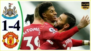 Newcastle United vs Manchester United 1 - 4   EPL All Goals And Highlights (17-10-2020)